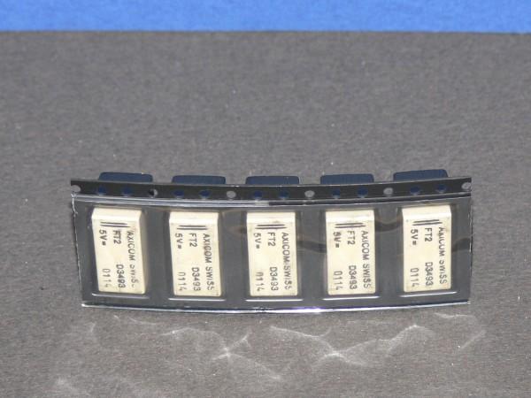 AXICOM FT2 D3493 Relais SMD 2x Wechsler Um Spulenspannung 5 Volt DC 5 Stück Lot