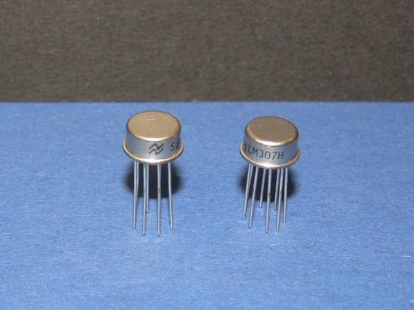 National LM307H Operationsverstärker Operational Amplifier OP IC Lot mit 2 Stk